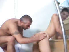 Salted old gay gets a younger boy to fuck