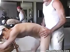 Hard and tough gay men fuck each other in HQ video