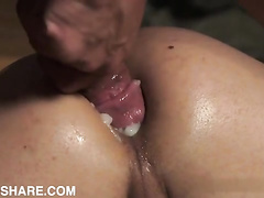 Hung twink gets barebacked and breeded