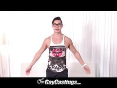 Gay Boy Zander Cole is shaking his big stuff here