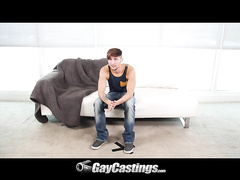 Free gay twink Zee Knox gives hot stroking to bf